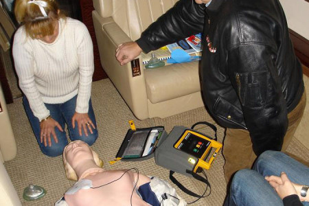 Gulf Stream AED training